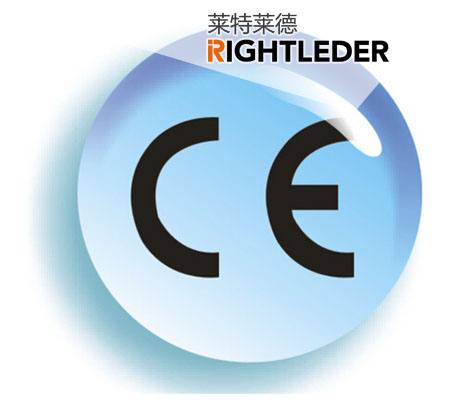 Warm Congratulations to Rightleder's CE-certificated, perfect services with Chinese characteristics